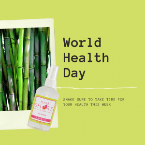 Hair freshener and health awareness