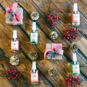 hair perfume and holidays