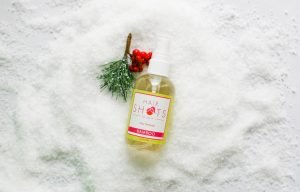 Hair fragrance spray and Holiday parties