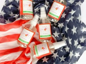 Labor Day and Hair deodorizer