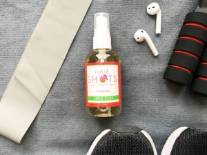 Hair Perfume and Getting in shape