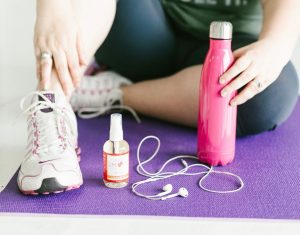 Perfume Spray and workout